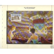 España Spain Hojitas Recuerdo 6 1972 FNMT Liceo