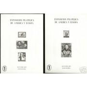 España Spain Hojitas Recuerdo 55/66 1977 FNMT Colón