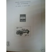 España Spain Hojitas Recuerdo 45P FNMT Salón Automóvil