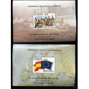 España Spain Hojitas Recuerdo 60/61 1978 FNMT Europa 78 CEPT