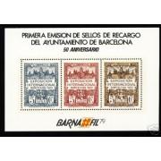 España Spain Hojitas Recuerdo 80 1979 FNMT Barnafil 79