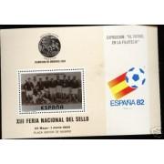 España Spain Hojitas Recuerdo 82 1980 FNMT Fútbol España 82