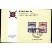 España Spain Hojitas Recuerdo 86 1980 FNMT Exfilna 80