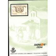 España Spain Hojitas Recuerdo 95 1980 FNMT Barnafil 80 Girona