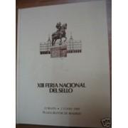 España Spain Hojitas Recuerdo 1980 Libro XIII Feria Nacional