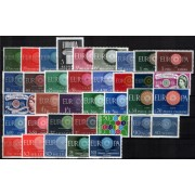 Tema Europa - 1960 - Completo Tema Europa 36 Sellos