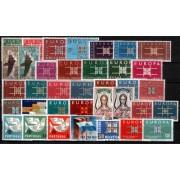 Tema Europa - 1963 - Completo Tema Europa 36 Sellos