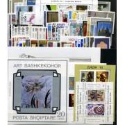 Tema Europa - 1993 - Completo Tema Europa 98 Sellos + 9 HB