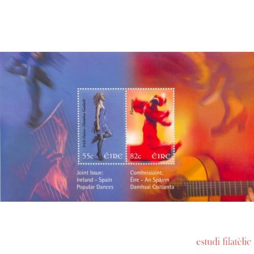 España Spain HB Emisión Conjunta 2008 Iranda-España Bailes populares MNH