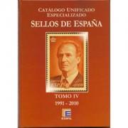 FILATELIA - Biblioteca - Catálogogos España y Colonias - EdCUE1c - CATÁLOGO ESPAÑA ESPECIALIZADO EDIFIL 2010 1991/2010