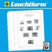 Leuchtturm 307171 SF-hojas preimpresas España sellos suplemento Barcelona/Valencia 1929-1985