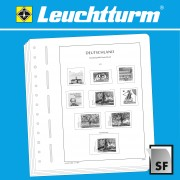 Leuchtturm 321572 LEUCHTTURM SF-hojas preimpresas Andorra correo español, 1928-2009