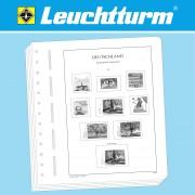 Leuchtturm 327862 LEUCHTTURM hojas preimpresas Gran Bretaña 1980-1989