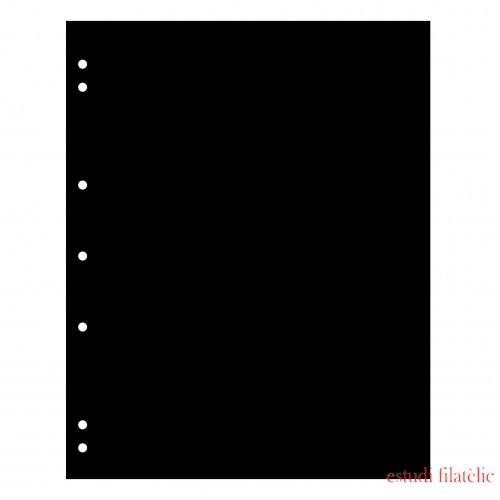 Leuchtturm 357701 Hojas separadoras NUMIS, negra, paquete de 10