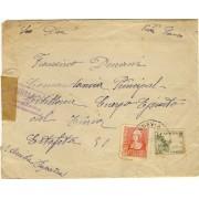 Historia postal - HP1938 - ESPAÑA CARTA MENDAVIA A LOGROÑO CENSURA MILITAR