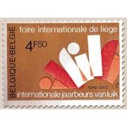 1666-1973 60º Aniv Bélgica Internacional Deportiva Obrera Lujo