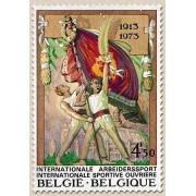 1666-1973 60º Aniv Internacional Deportiva Obrera Lujo Bélgica